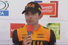 Le cycliste Costaricien Daniel Bonilla gagne la 4e étape du Tour de la Guadeloupe (26 octobre 2021).