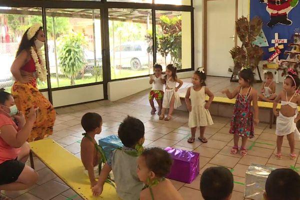 danse culture ori tahiti enfants élèves