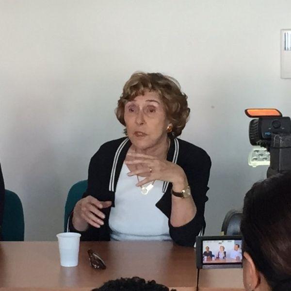 Edith Cresson à La Réunion 18 Avril 2016