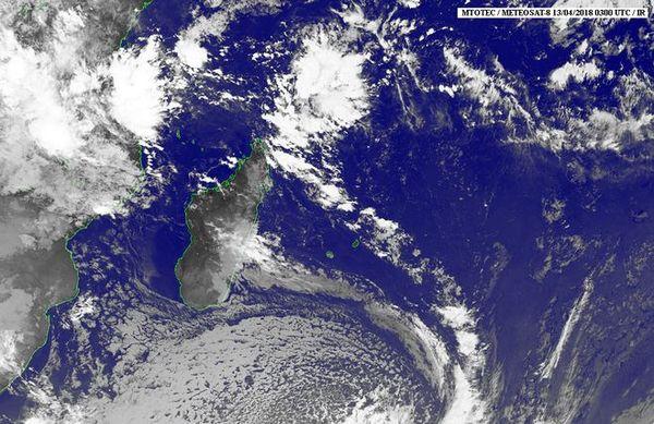Image satellite 13 avril 2018