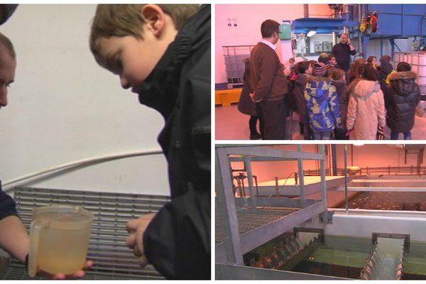 Visite scolaire de la station d'eau de Saint-Pierre