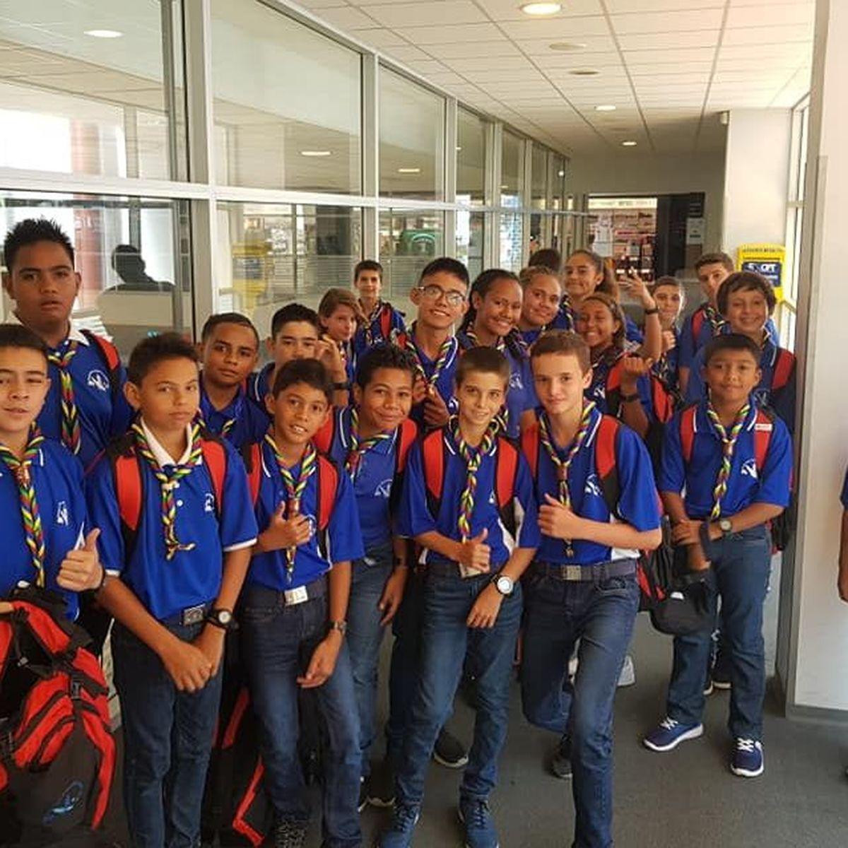 Des scouts calédoniens en route pour Yogyakarta