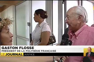 Justice : Gaston Flosse vacille