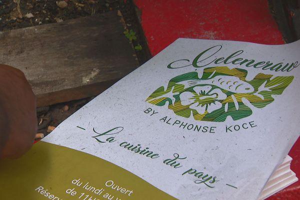 Celenraw restaurant d'Alphonse Koce