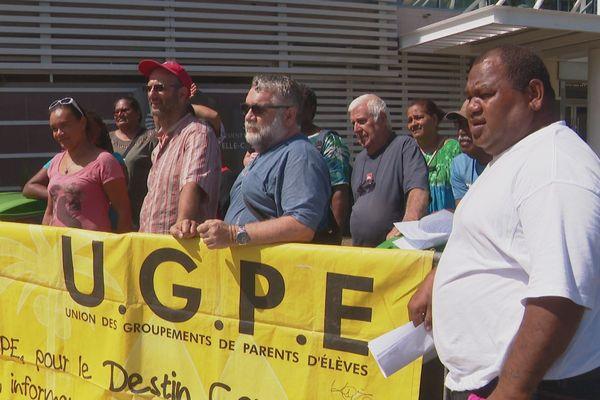 Mobilisation UGPE, 18 mars 2019, Nouméa
