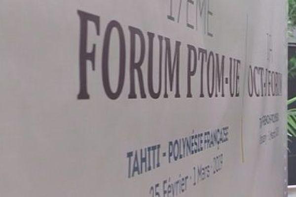 17 ème forum des PTOM à Tahiti