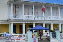 Les agents UTC-UGTG d'Anse-Bertrand sont mobilisés depuis mars 2021