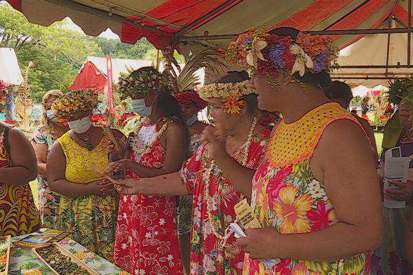 Journée internationale des droits des femmes, rassemblement pédagogique et culturel à Teva I Uta