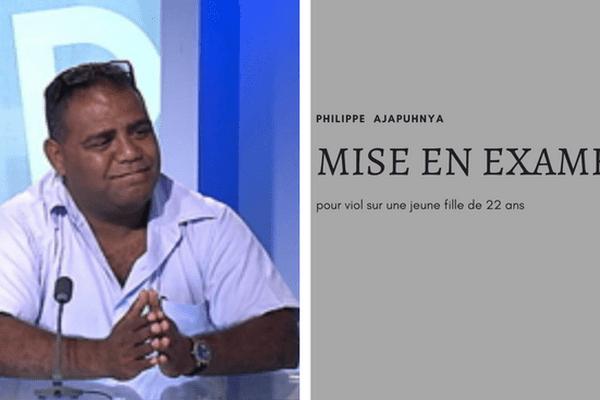 Philippe Ajapuhnya : mise en examen