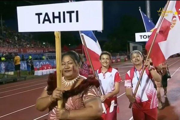 Cérémonie de fin des XVI Jeux du Pacifique
