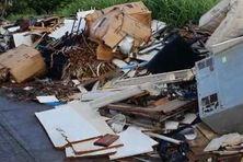 Des déchets étalés en bordure de route (image d'illustration).