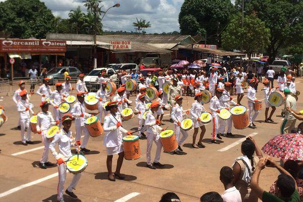 Défilé de l'indépendance à Oiapoque