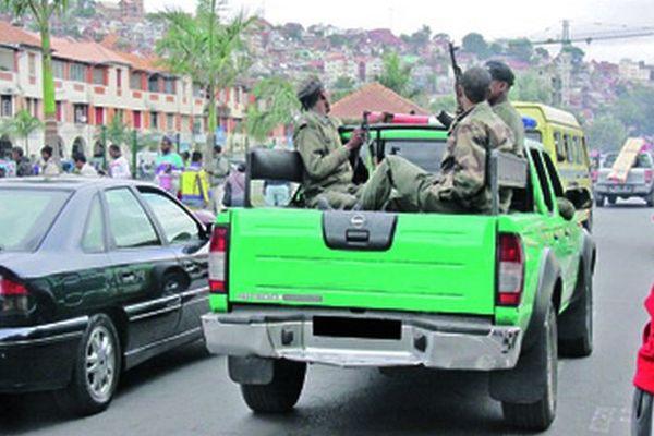 Policiers à Tana