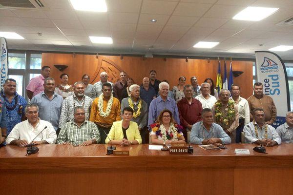 Signature de convention entre province Sud et assemblée territoriale de Wallis et Futuna
