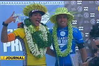 2014 millésime d'exception pour la Billabong Tahiti pro