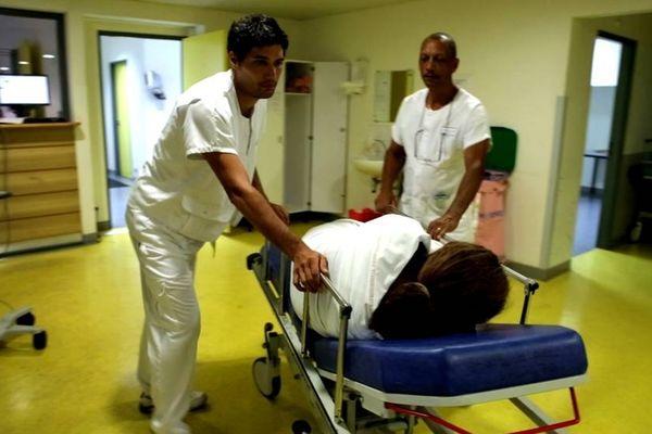 Inédit… à l'hôpital