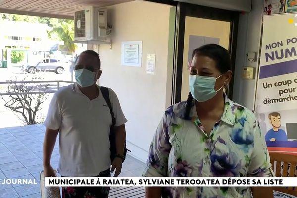 Municipales partielles à Uturoa : Sylviane Terooatea candidate