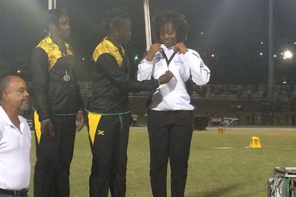Athlétisme carifta games StKitts et Nevis