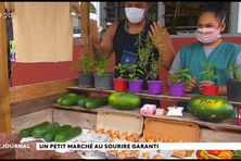 Le petit marché du centre papa nui