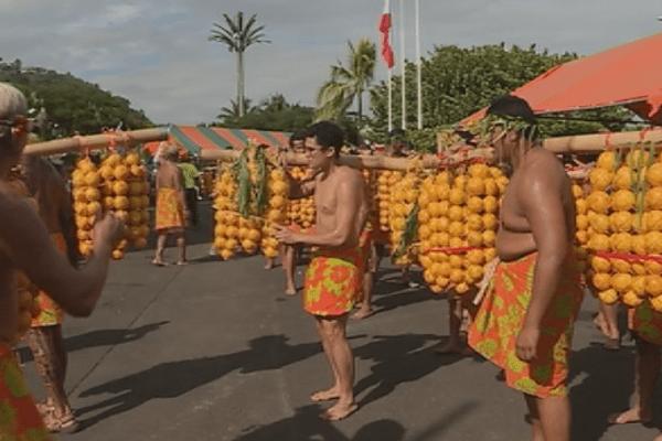 fête de l'orange punaauia