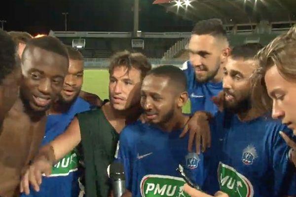 Victoire du FC Lunéville