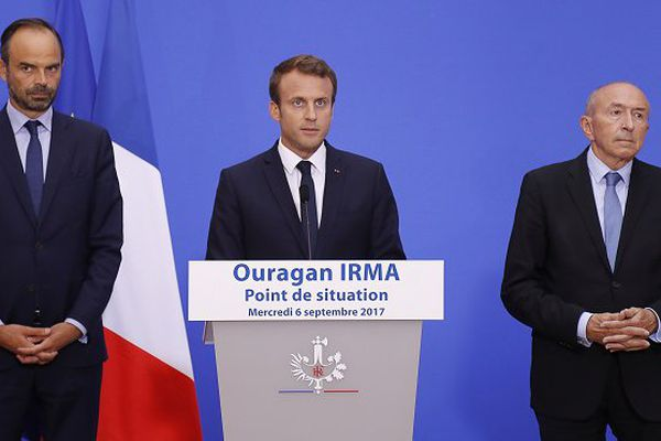 Macron Irma