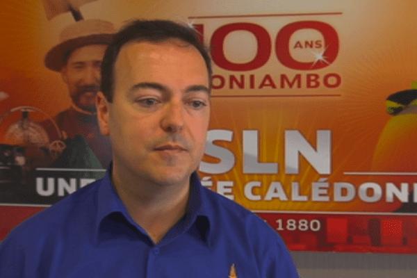 Jérome Fabre, directeur général de la SLN