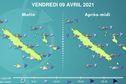 Météo : une dépression tropicale va toucher la Nouvelle-Calédonie à partir de vendredi
