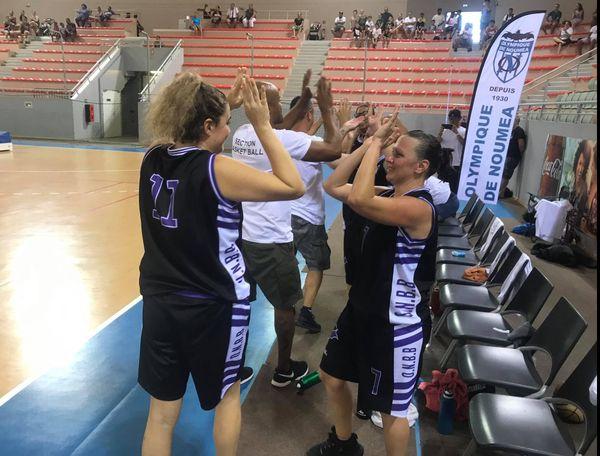 Finales territoriales de basket femmes, Olympique / Mont-Dore, Arène de Païta, 14 novembre 2020