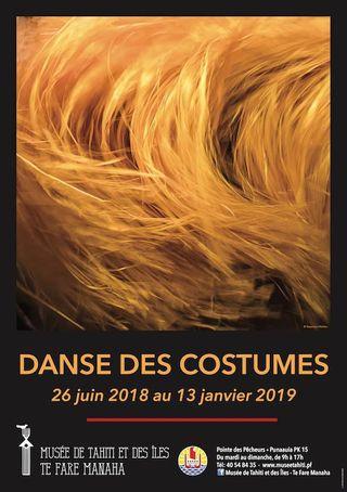 Danse des costumes - affiche