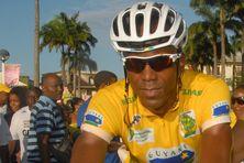 Patrice Ringuet, vainqueur du Tour de Guyane 2014