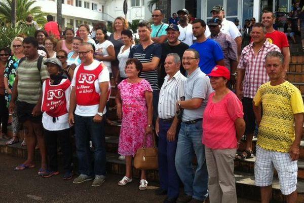 Grève FO mairie du Tampon