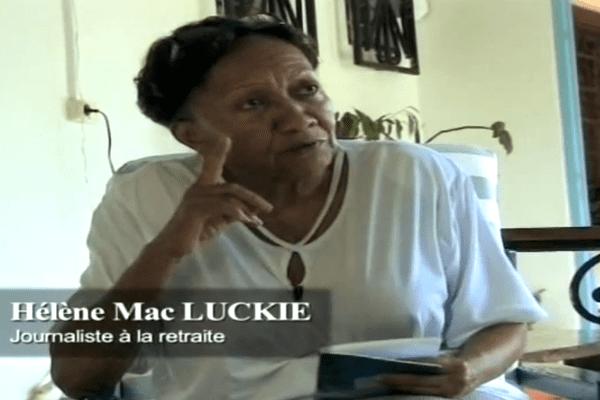 Décès d'Hélène Mac Luckie