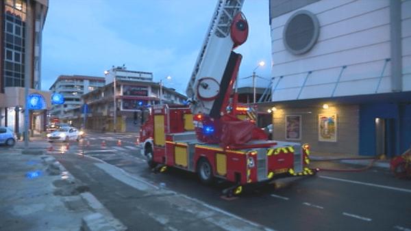 Incident électrique le 29 mars 2018, au cinéma Cinécity