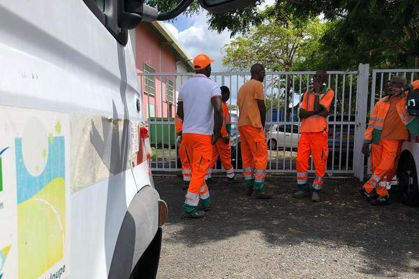 Mouvement de grève à Route de Guadeloupe