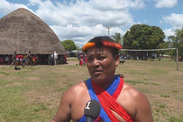 Michel Aloïké, chef coutumier de Twenké Taluen
