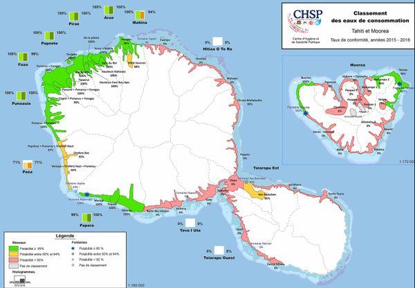 Potabilité de l'eau aux Iles Du Vent