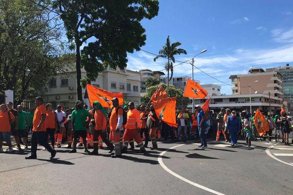 Marche Usoenc à Nouméa, 13 novembre 2020, haut-commissariat