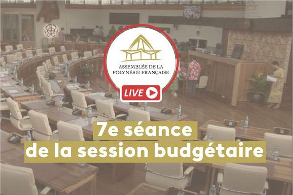 7e séance de la session budgétaire de l'Assemblée en direct
