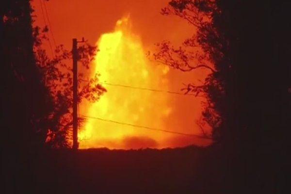 Le volcan est entré en éruption le 3 mai