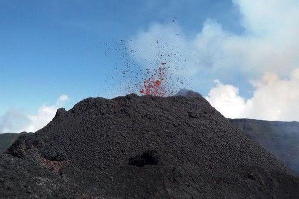 Piton de la Fournaise volcan 290918