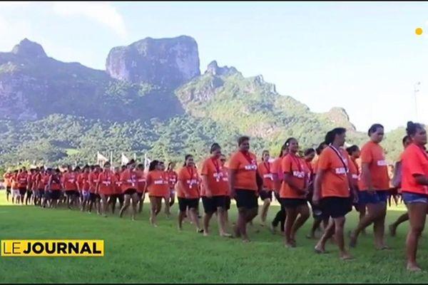 Invitée du journal : Revanui Teupoohuitia, Présidente du Comité d'Organisation des Jeux des Iles Sous le Vent