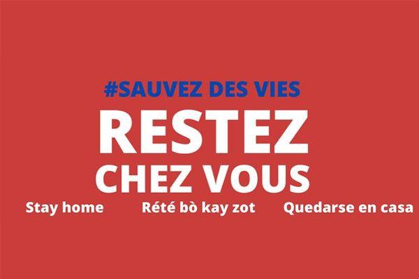 Restez chez vous préfecture Martinique