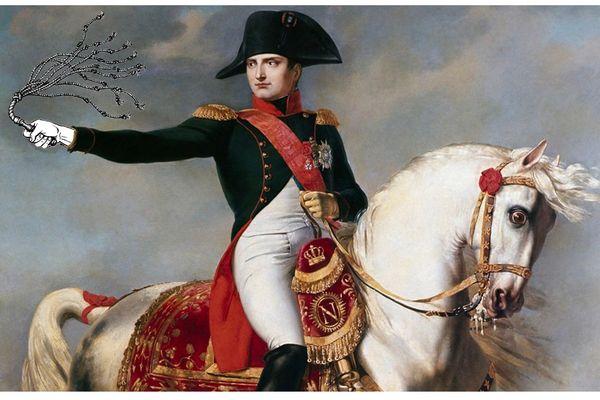 Montage Napoléon et fouet