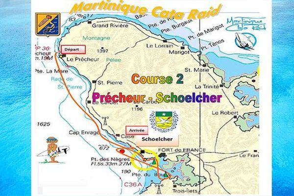 Martinique Cata Raid étape 2