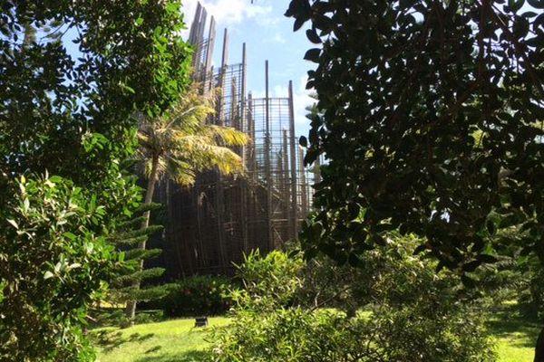 CCT centre culturel Tjibaou extérieur 030316