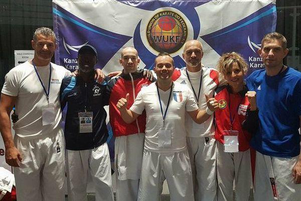 Karaté championnat du monde équipe de France