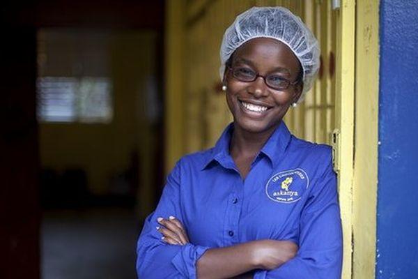 Corinne Joachim-Sanon-Symietz, chocolatière Haïti