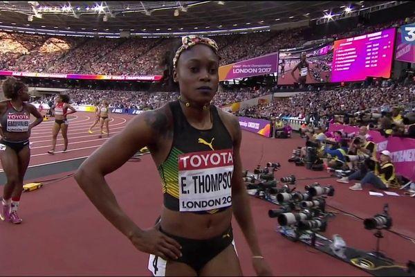 Mondiaux  d'athlétisme : Elaine Thompson