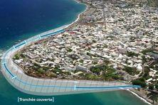 Le coût du tracé mer est estimé à 387 million d'euros
